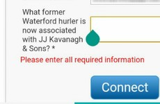 The best thing about the JJ Kavanagh Waterford bus is this question to access WiFi