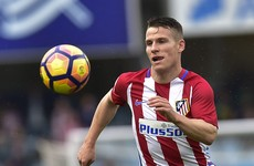 Substitute Gameiro saves the day for Atletico Madrid as he hits a five-minute hat-trick