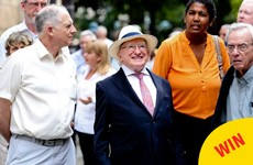 People are loving this photo of Michael D enjoying himself in Cuba