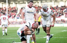 Five-star Ulster leapfrog Glasgow and close the gap on Pro12 leaders