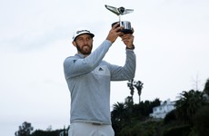 Johnson on top of the world after Genesis Open win