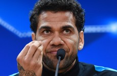 Barcelona have no idea how to treat players - Dani Alves slams Camp Nou board