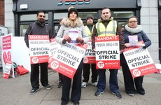 Tesco claims 45,000 people shopped at stores picketed by strikers