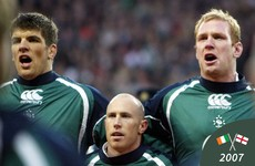 The right tone: Performing the national anthems at Ireland and England's historic 2007 match