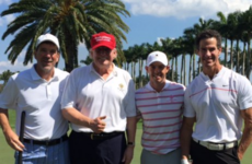 9 of the quickest reactions to Rory McIlroy golfing with Trump