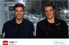 Everyone is swooning over these ridey male models who rescued a group of teens from a frozen pond