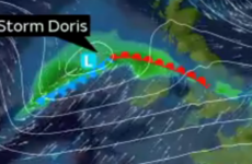 Heavy rain and severe winds expected tonight as Storm Doris nears Ireland