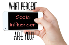 What Percent 'Social Influencer' Are You?
