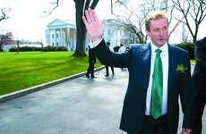 Jetting off: Enda's 'last lap' mission of diplomacy and negotiation starts today