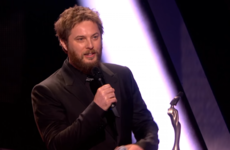 David Bowie's son paid an emotional tribute as his iconic father cleaned up at the Brit Awards