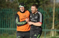 Keatley and Conway return to Munster 23 for visit of Scarlets