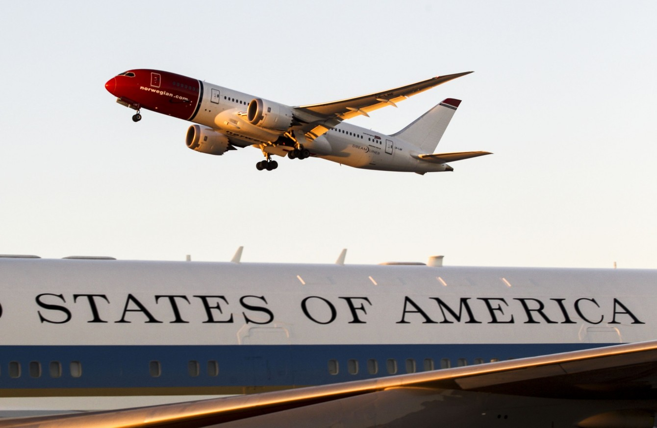 Resultado de imagen para Norwegian Air transatlantic flight