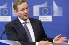 On Brussels trip, Kenny says Brexit deal should include provision for united Ireland