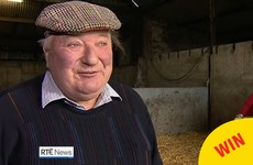 Everyone fell for the lovely Clare farmer getting excited about his calves on the RTÉ News
