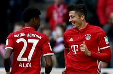 Relentless Bayern Munich fire 8 past Hamburg on special day for Ancelotti
