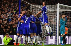Costa continues phenomenal form as Chelsea survive scare to pull clear