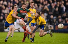 Mayo claim second league win as Rochford's men prove too strong for Roscommon