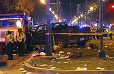 28 injured after truck ploughs into New Orleans Mardi Gras parade
