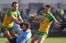 Murphy's injury-time free rescues a draw for Donegal as Dublin extend unbeaten run to 32 games