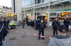 Police question student who drove his rented car into pedestrians in Germany