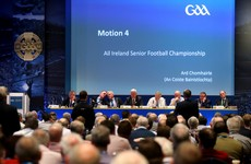 'All of the players, all of the inter-county managers are not in favour of it and it's in. So nice job by the GAA.'