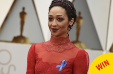Ruth Negga absolutely slayed the Oscars red carpet AND got her own E! fun fact