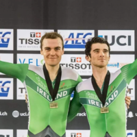 Gold for Ireland's Downey and English at Track Cycling World Cup in LA