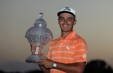 Even a rogue sprinkler head couldn't stop Rickie Fowler winning the Honda Classic