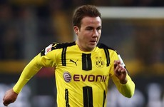 Dortmund star Gotze ruled out indefinitely due to 'metabolic disorders'