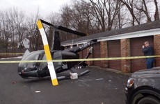 Louis Walsh's brother crash lands helicopter safely in New Jersey