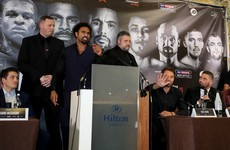 Foul-mouthed David Haye rises to Tony Bellew fans bait