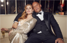 Amy Adams and Vin Diesel were unlikely best buddies at an Oscars party... It's the Dredge