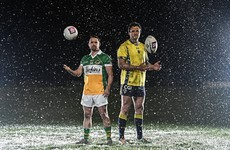 The Donegal captain with Clermont and the Welsh rugby great playing for Glenswilly