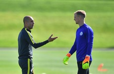Pep Guardiola rules out Joe Hart return to Man City