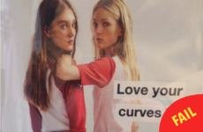 Zara used thin models in an ad about 'loving your curves', and people are not impressed
