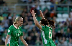 Stephanie Roche on target as new Ireland manager gets off to winning start