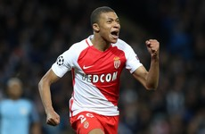 Coveted teenager Mbappé scores again as Monaco inch past Marseille in seven-goal marathon