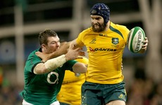Leinster set to sign Wallabies international Scott Fardy as a second row