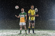 Watch: Michael Murphy and Shane Williams swap sports in 'The Toughest Trade'
