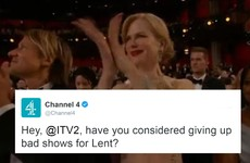 Channel 4 sent a shady tweet at ITV2 and a load of other stations rowed in