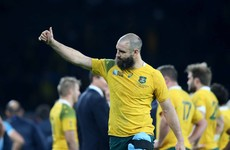 Leinster confirm signing of 32-year-old Wallaby Scott Fardy from the Brumbies
