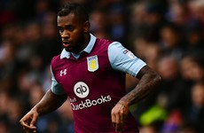 6 game ban for Aston Villa player after barging into assistant referee in Derby County match