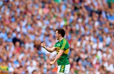 Paul Murphy moves back to the Kerry defence, as Donnchadh Walsh and Barry John Keane start in attack