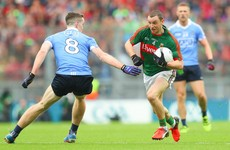 Higgins set to make his 129th Mayo senior appearance, while McCaffrey drops to Dublin bench