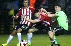 Floodlight failure sees Derry-Limerick Buncrana clash abandoned after just 24 minutes