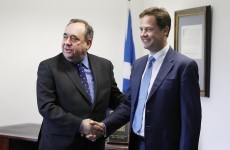 Leaders clash over Scottish independence ahead of Dublin summit