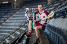 Step one of Slaughtneil's dream double in honour of 'main man looking down'