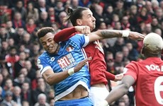 Ibrahimovic: Unfortunately Mings jumped into my elbow
