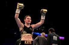 Katie Taylor eases to third pro victory amid fifth-round stoppage