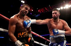 Bellew stuns hobbling Haye with 11th round stoppage in heavyweight upset